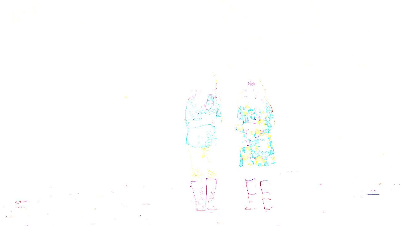 photograph of two girls walking at cherry glen in ankeny iowa
